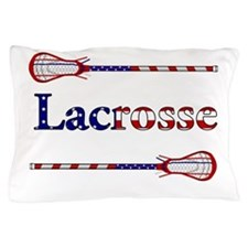Lacrosse Stars and Stripes Pillow Case
