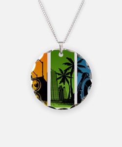 Turntable City Necklace