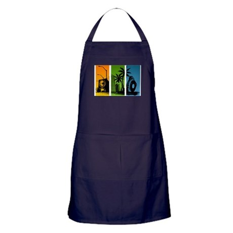 Turntable City Apron (dark)