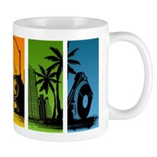 Turntable City Mug