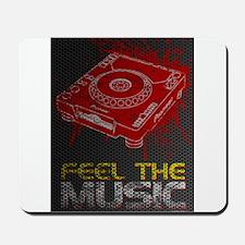 Pioneer CDJ Feel The Music Mousepad