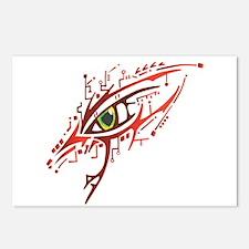 Cyber Eye Postcards (Package of 8)