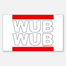 Wub Wub Dubstep Decal