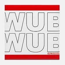 Wub Wub Dubstep Tile Coaster