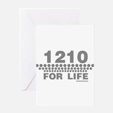 1210 For Life Greeting Card