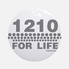 1210 For Life Ornament (Round)