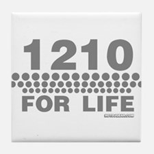 1210 For Life Tile Coaster