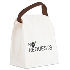 No Requests Canvas Lunch Bag