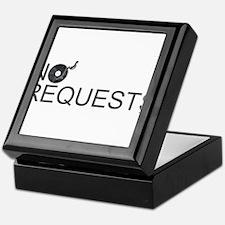No Requests Keepsake Box