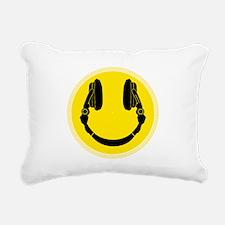 Unique Dj Rectangular Canvas Pillow