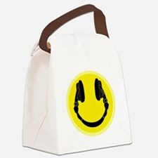 Funny Dj Canvas Lunch Bag