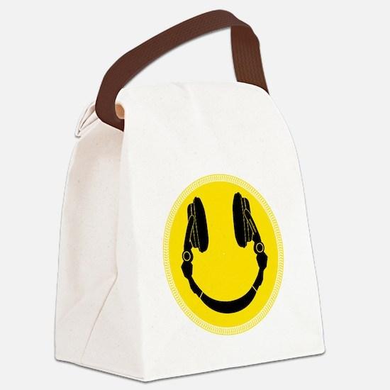 Unique Disc jockey Canvas Lunch Bag