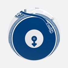Male Turntable Ornament (Round)