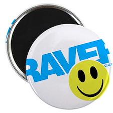 "Raver Smilie 2.25"" Magnet (10 pack)"