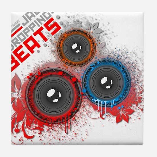 Jaw Dropping Beats Tile Coaster