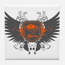 Turntable Shield Tile Coaster