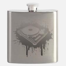 Graffiti Turntable Flask