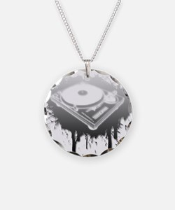 Graffiti Turntable Necklace
