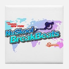 NuSkool BreakBeats Tile Coaster