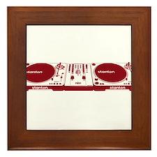 Stanton DJ Setup Framed Tile