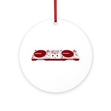 Stanton DJ Setup Ornament (Round)