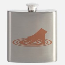 Spin The Vinyl Flask