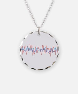 Sound Waves Necklace