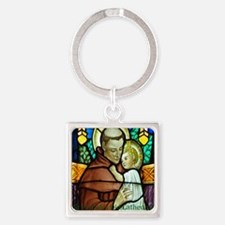 St Anthony Square Keychain