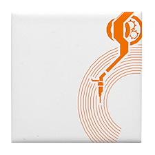 Tone Arm Tile Coaster
