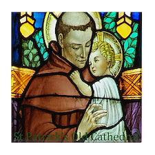 St Anthony Tile Coaster