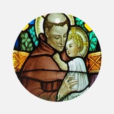 St Anthony Round Ornament