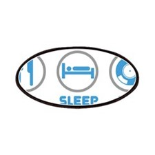 Eat Sleep Mix Again Patches