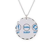 Eat Sleep Mix Again Necklace