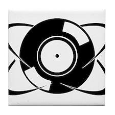 Record Atom Tile Coaster