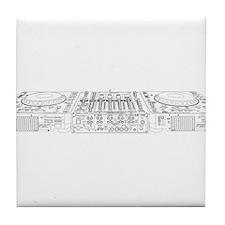 CDJ & DJM Setup Tile Coaster