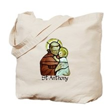 St Anthony Tote Bag