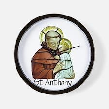 St Anthony Wall Clock