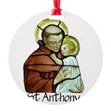 St anthony Ornaments