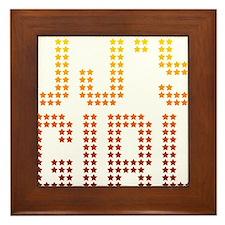 DJ's Girl Framed Tile