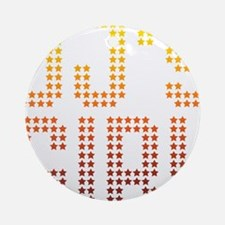 DJ's Girl Ornament (Round)
