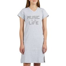 Music Is My Life Women's Nightshirt