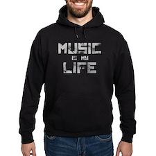 Music Is My Life Hoody