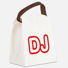 DJ Canvas Lunch Bag