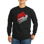 45 RPM Long Sleeve Dark T-Shirt