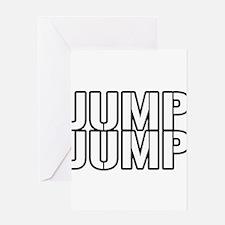 JUMPJUMP.png Greeting Card