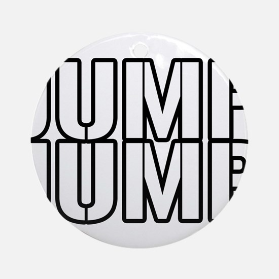 JUMPJUMP.png Ornament (Round)