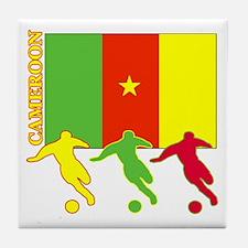 Cameroon Soccer Tile Coaster
