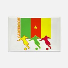 Cameroon Soccer Rectangle Magnet (100 pack)