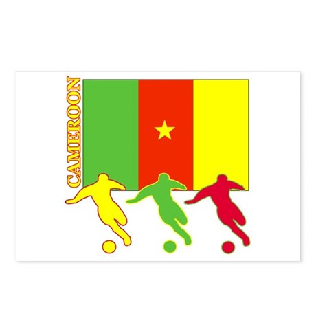 Cameroon Soccer Postcards (Package of 8)