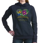 Butterflygrandmother.png Hooded Sweatshirt
